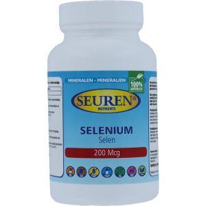 Seuren Nutrients Sélénium 200 mcg 100 Comprimés