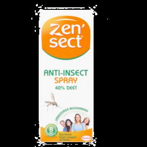 Zen'sect Spray anti-insectes 40% Deet 60 ml